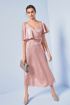 Satin Occasion Dress