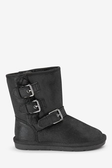 Buckle Pull-On Boots (Older)