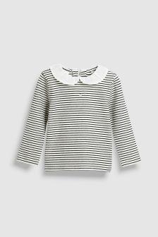 Long Sleeve Collar Top (3mths-6yrs)