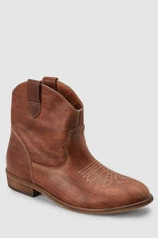 Leather Western Boots (Older)