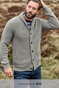 849ec90675b54c Mens Cardigans | Zip & Shawl Neck Cardigans | Next Ireland