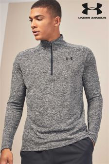 Under Armour Black Heather 1/4 Zip