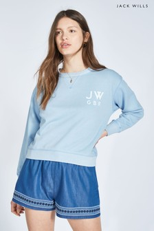Jack Wills Kempson Garment Dye Crew
