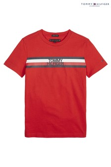 Tommy Hilfiger Boys Essential Stripe T-Shirt