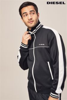 Diesel® Black Roots Track Top