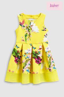 Baker by Ted Baker Oasis All Over Print Scuba Dress
