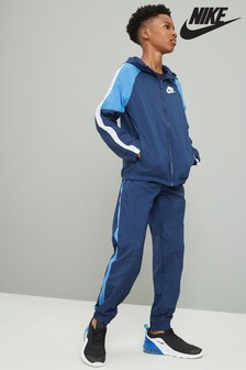 Nike Navy Woven Tracksuit