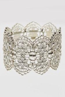 Lace Effect Expander Bracelet