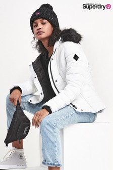 Superdry White Arctic Jacket