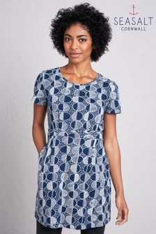 Seasalt Blue Ink Pot Tunic