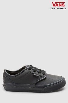 8257818e38 Vans Infant Black Leather Atwood