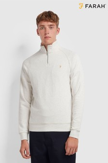 Farah Natural Zip Top