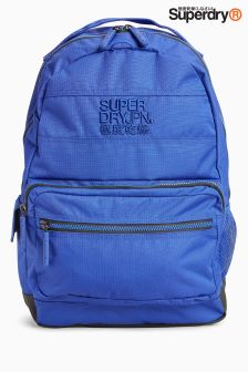 Superdry Navy Moncheater Backpack