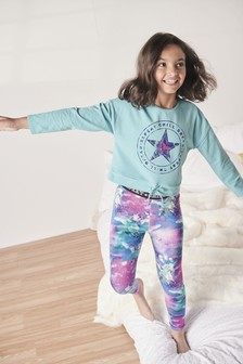 Unicorn Legging Pyjamas (3-16yrs)