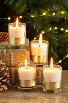 Set of 4 Collection Luxe Candles