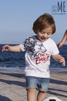 Come On England T-Shirt (3mths-6yrs)