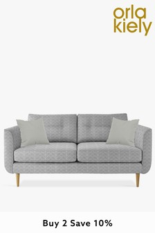 Orla Kiely Linden Medium Sofa With Oak Feet