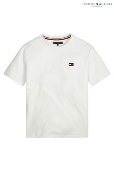 Tommy Hilfiger Boys Crew Neck Back Logo T-Shirt