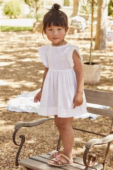 Frill Sleeve Dress (3mths-6yrs)