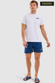 Nautica Competition White Peak T-Shirt