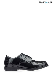 Start-Rite Black Brogue Shoe