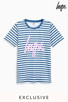 Hype. Navy Stripe Tee