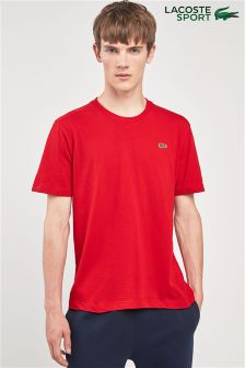 Lacoste® Sport Lighthouse Red Small Logo T-Shirt