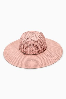 Sequin Floppy Hat