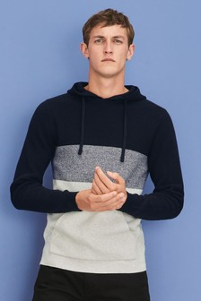 Colourblock Hoody