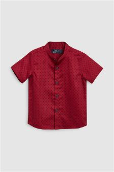 Spot Short Sleeve Shirt (3mths-6yrs)