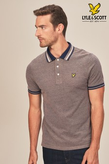 Lyle & Scott Contrast Collar Poloshirt