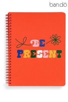 ban.do Red Rough Draft 'Be Present' Mini Notebook