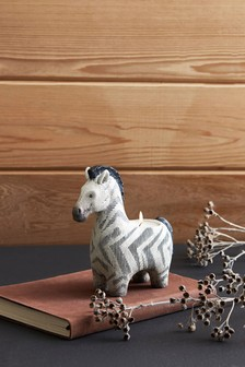Ziggy The Zebra Tealight Holder