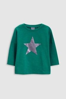 Glitter Star T-Shirt (3mths-6yrs)