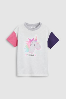 Flippy Unicorn T-Shirt (3-16yrs)