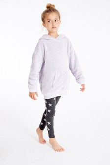 Fleece Hoody And Leggings Lounge Set (3-16yrs)