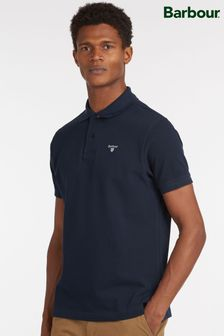 Barbour® Navy Tartan Polo