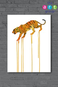 Tiger by Oliver Flores Canvas