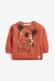 Koala Appliqué Sweatshirt (3mths-7yrs)