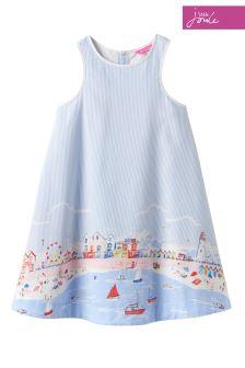Joules Beach Border Bunty Woven Dress