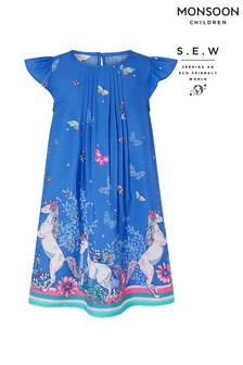 Monsoon Recycled Tabitha Unicorn Dress