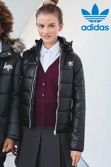 adidas Originals Black And Pink Trefoil Jacket