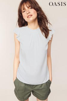 Oasis White Pie Crust Shell Top