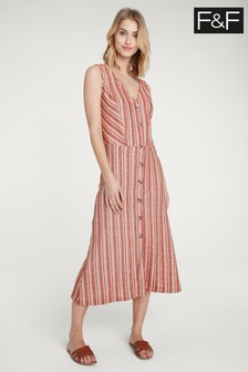 F&F Multi Sleeveless Dress