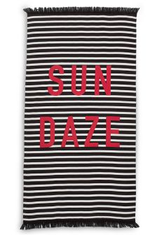 Sun Daze Stripe Beach Towel