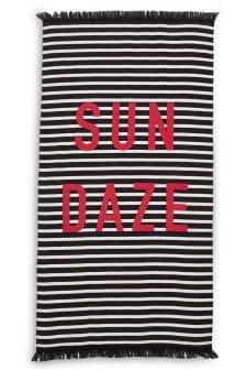 Sun Daze Stripe Beach Towel