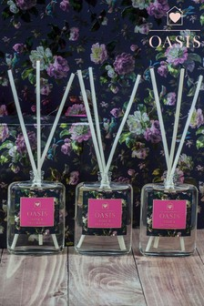 Oasis Set of 3 Rose & Patchouli Diffusers