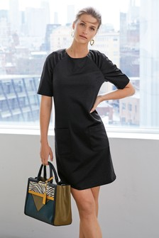 2c578e877e Ponte Shift Dress