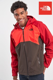 The North Face® Brown/Fiery Red Stratos Jacket