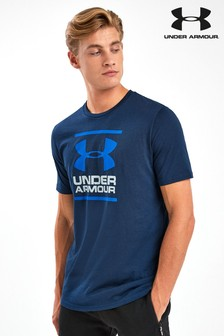 Under Armour T-Shirt mit Grafik, marineblau